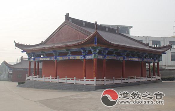 南宫殿建筑一角