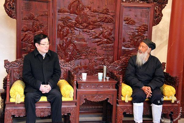 国宗局领导看望慰问中国道教协会负责人