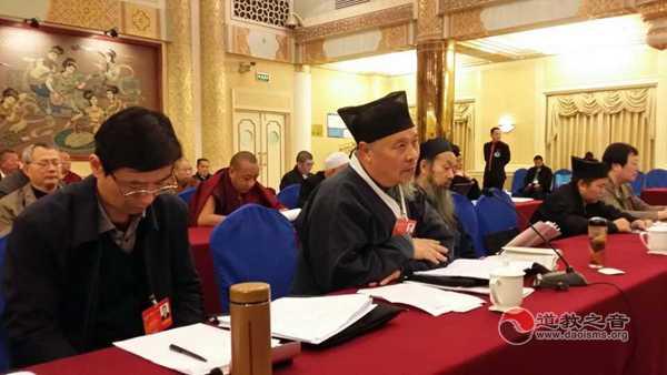 全国政协委员、中国道教协会副会长刘怀元道长
