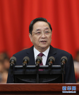 俞正声:扩大中国宗教界国际领域话语权