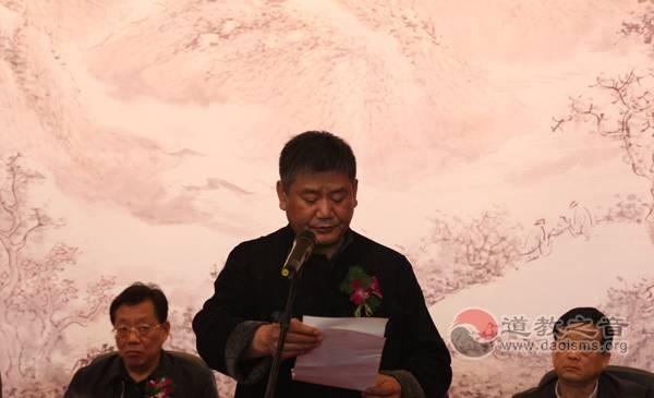 """""""林泉高致·权继君中国画展""""在江苏徐州举行"""