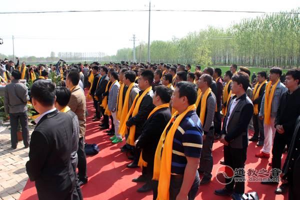 石永标道长碑亭竖立仪式在江苏举行