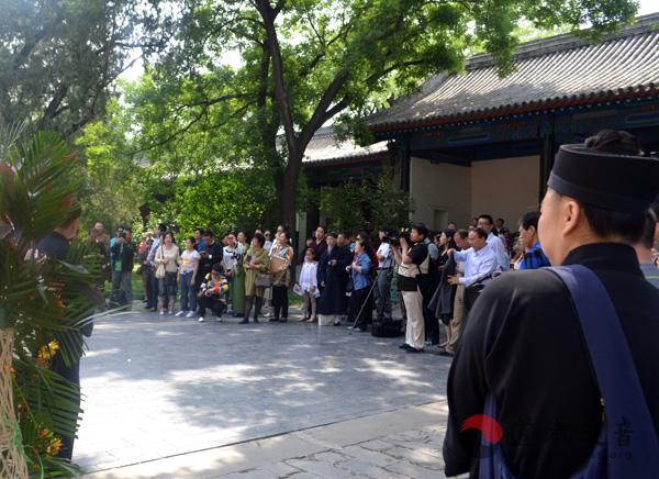 张继禹道长书画展在北京国子监隆重举行