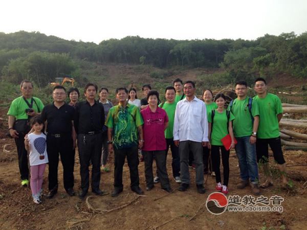 马来西亚沙巴州茅山道教会一行首次参访南京道教方山洞玄观