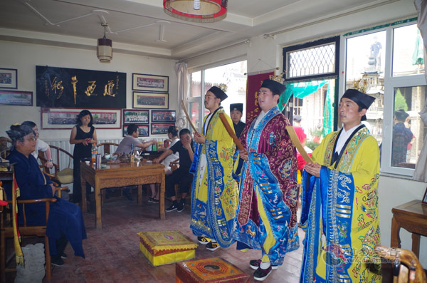太原市居贤观道院六月二十四日举行传统庙会