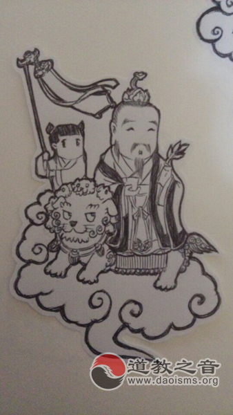 卡通神仙赏析