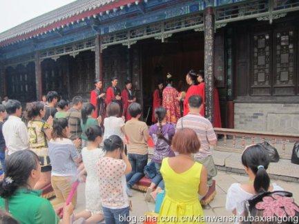 西安八仙宫为鲁甸地震灾区举行祈福消灾暨中元节超度法