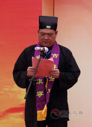 江苏省道教协会会长杨世华道长