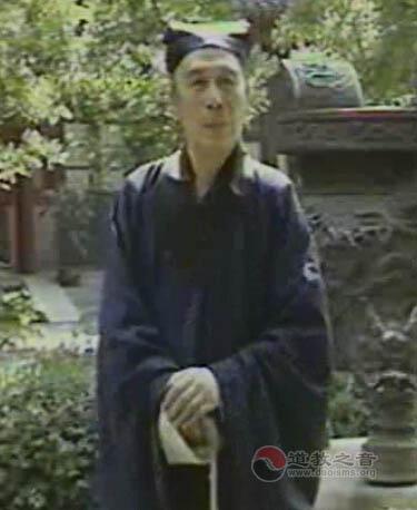 原中国道教协会副会长刘之维道长