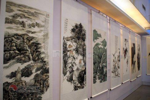 鹰潭举行道教经典全国书法大赛优秀作品展