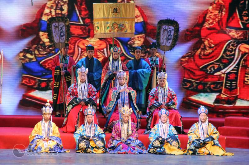 武汉大道观道乐团《道教手印—天尊出巡图》