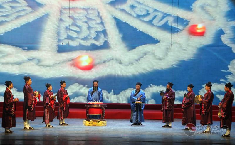 武汉大道观道乐团《玄门鼓乐—鸭子上架》