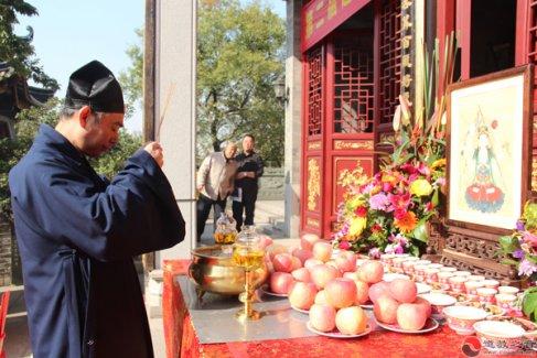 第二届道教星斗文化节在广州纯阳观举行(图库)
