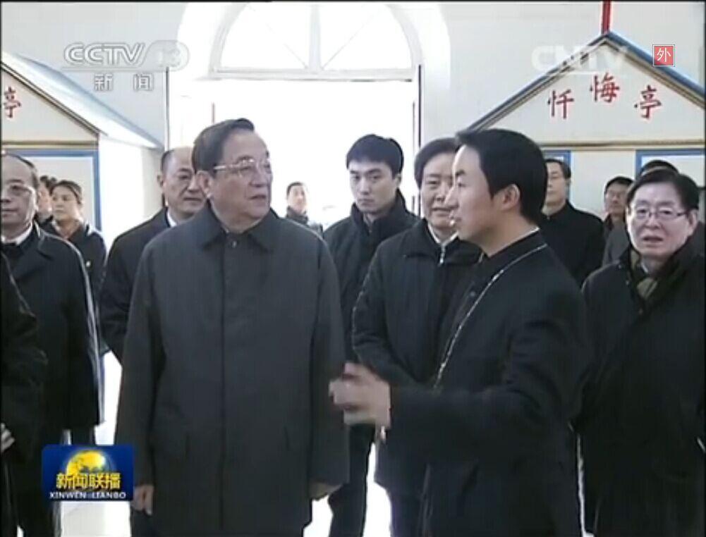 俞正声:精心做好宗教工作 服务经济社会发展