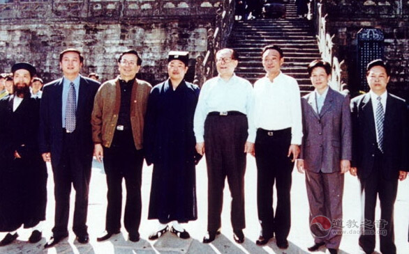 原武当山道协会长王光德道长入道前记事