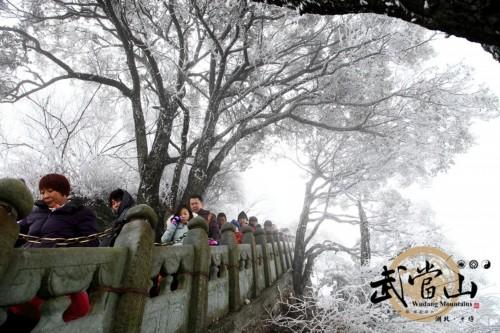 正月初九:武当山瑞雪迎新春 乾坤忽变仙家圣境