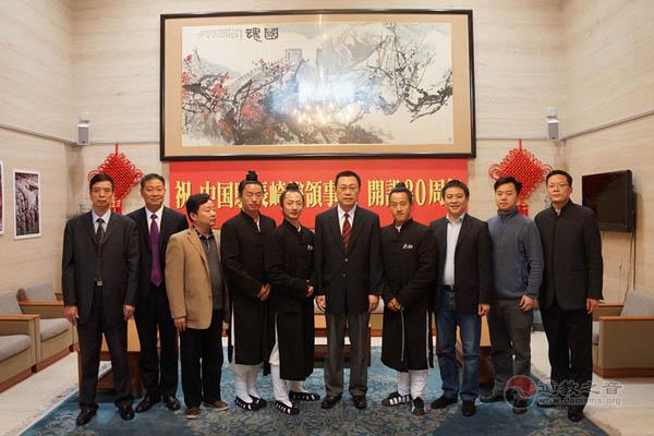 驻长崎总领事邓伟会见湖北省武当山太极拳表演团