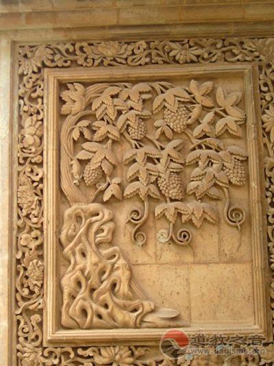 道教建筑中的装饰