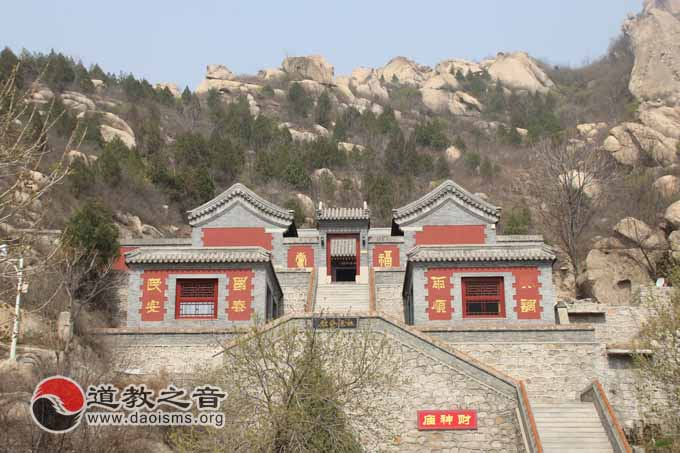 聂各庄乡人民政府恢复凤凰岭风景区时