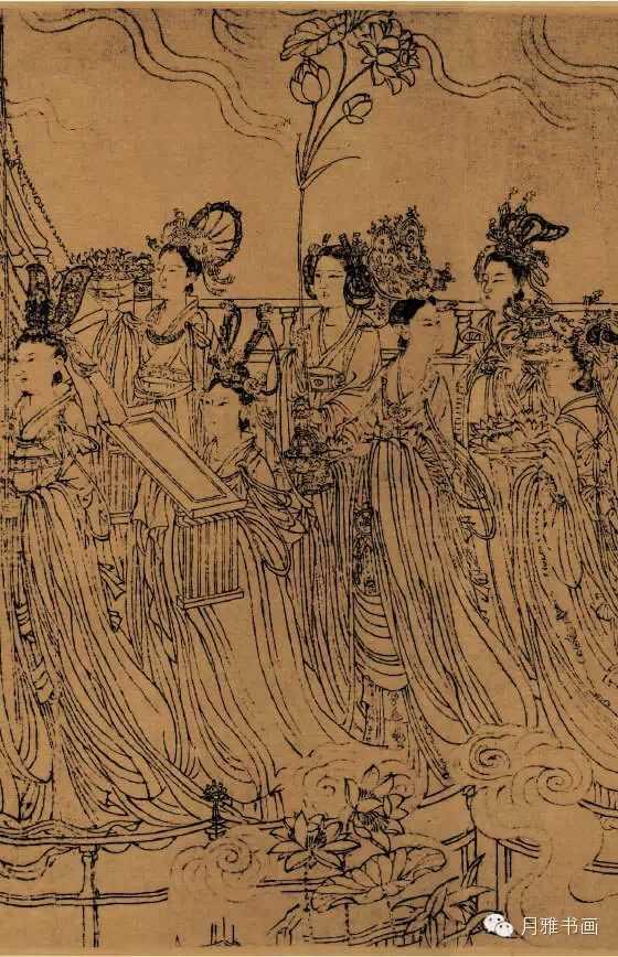 《八十七神仙卷》局部图