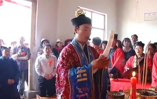 枣庄玉皇庙举行碧霞元君神像开光法会