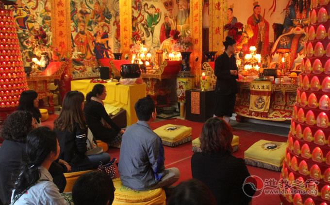 """道教之音""""问道之旅""""第三期在平谷龙王庙开班"""