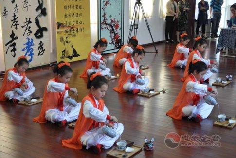 上海城隍庙与黄浦区回民小学联合举行国学展示活动
