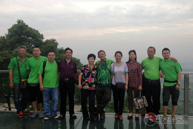马来西亚沙巴州茅山道教会一行参访江苏参访