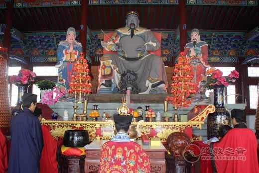 吉林玄帝观举行端午节祈福禳灾法会