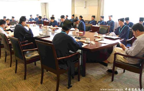 中国道教协会第九次全国代表会议举行第二次分组讨论