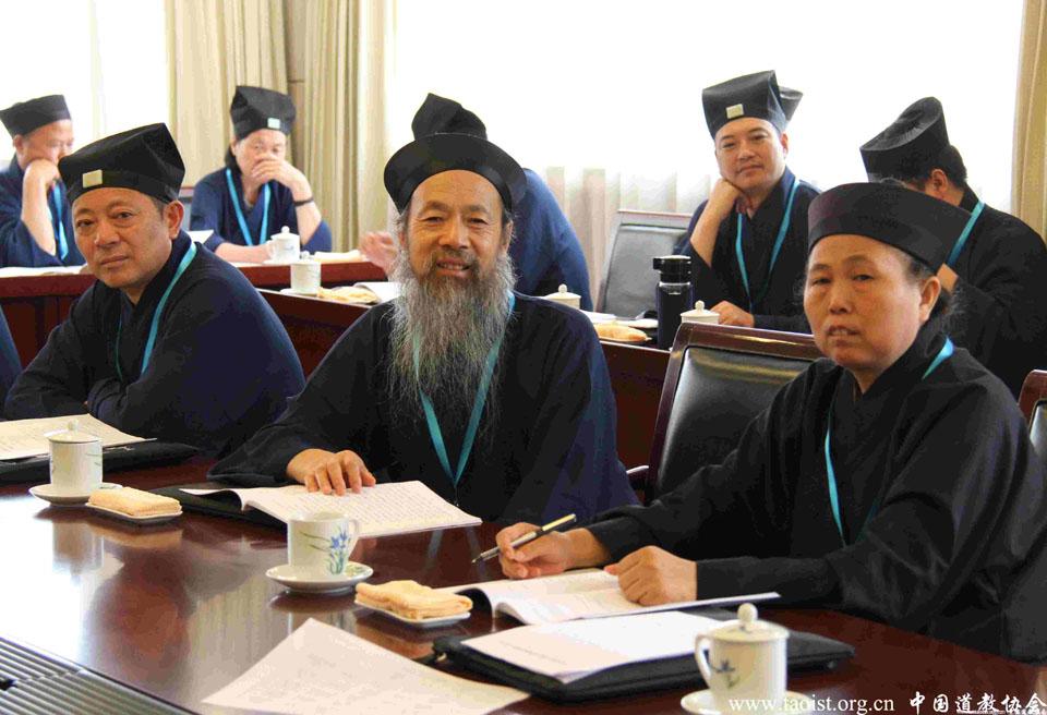 中国道教协会第九次全国代表会议第二次分组讨论