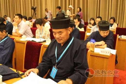 韩崇安道长出席中国道教协会第九次全国代表会议