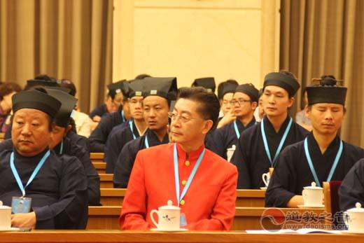 六小龄童出席中国道教协会第九次全国代表会议