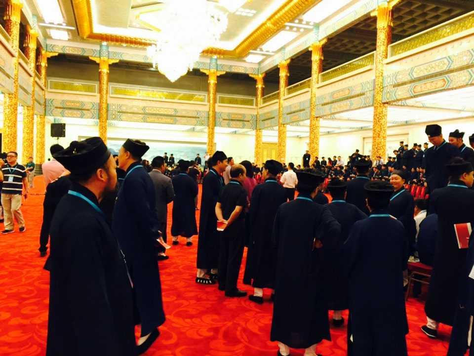 人民大会堂,中央领导接见