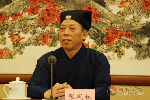 中国道教协会新一届领导集体代表与媒体记者见面