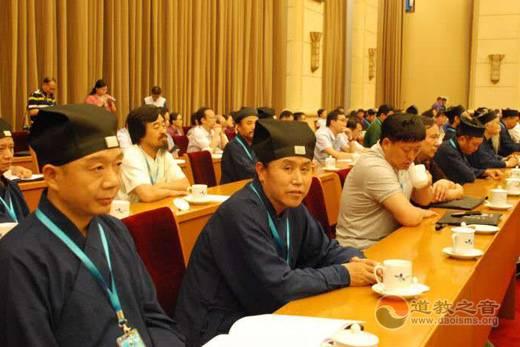 朱崇君道长出席中国道教协会第九次全国代表会议