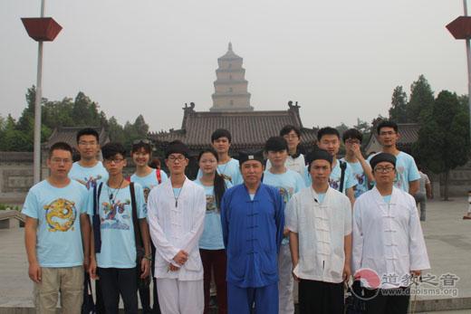 """朝拜祖庭""""问道之旅""""陕西行公益活动总结会暨结束仪式在八仙宫举行"""