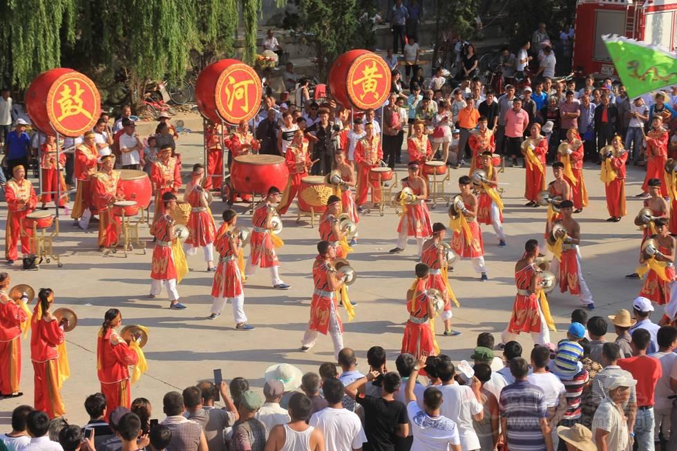 榆林黑龙潭道观举行传统庙会周活