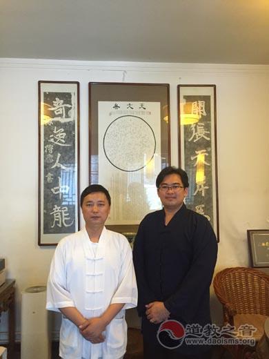 新加坡道教总会青年团秘书长庄光栋参访西安都城隍庙