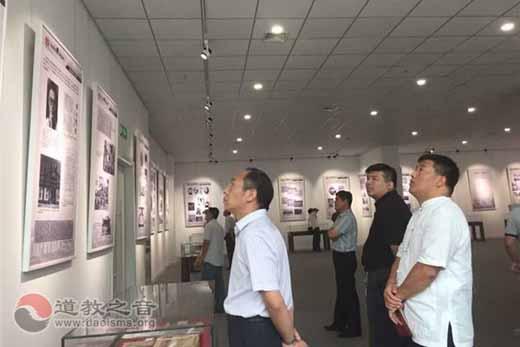 徐州民族宗教界参观纪念反法西斯战争胜利70周年图片展