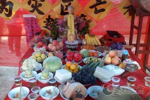 陕西汉中城固独丘山王爷庙为灾区人民祈福迎祥超度法会