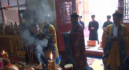河北清河玉皇宫西王母圣诞三元朝科(视频)