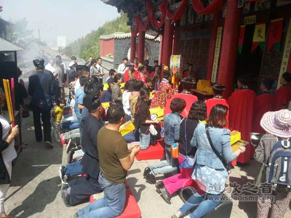青海省道协举行纪念抗日战争胜利70周年和平祈祷法会