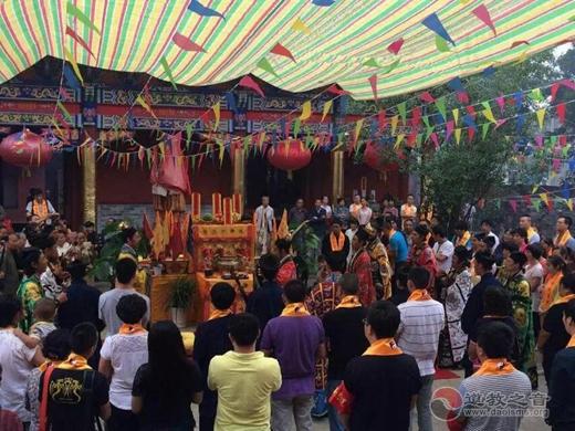陕西汉中道教界隆重纪念抗战胜利70周年和平祈祷法会