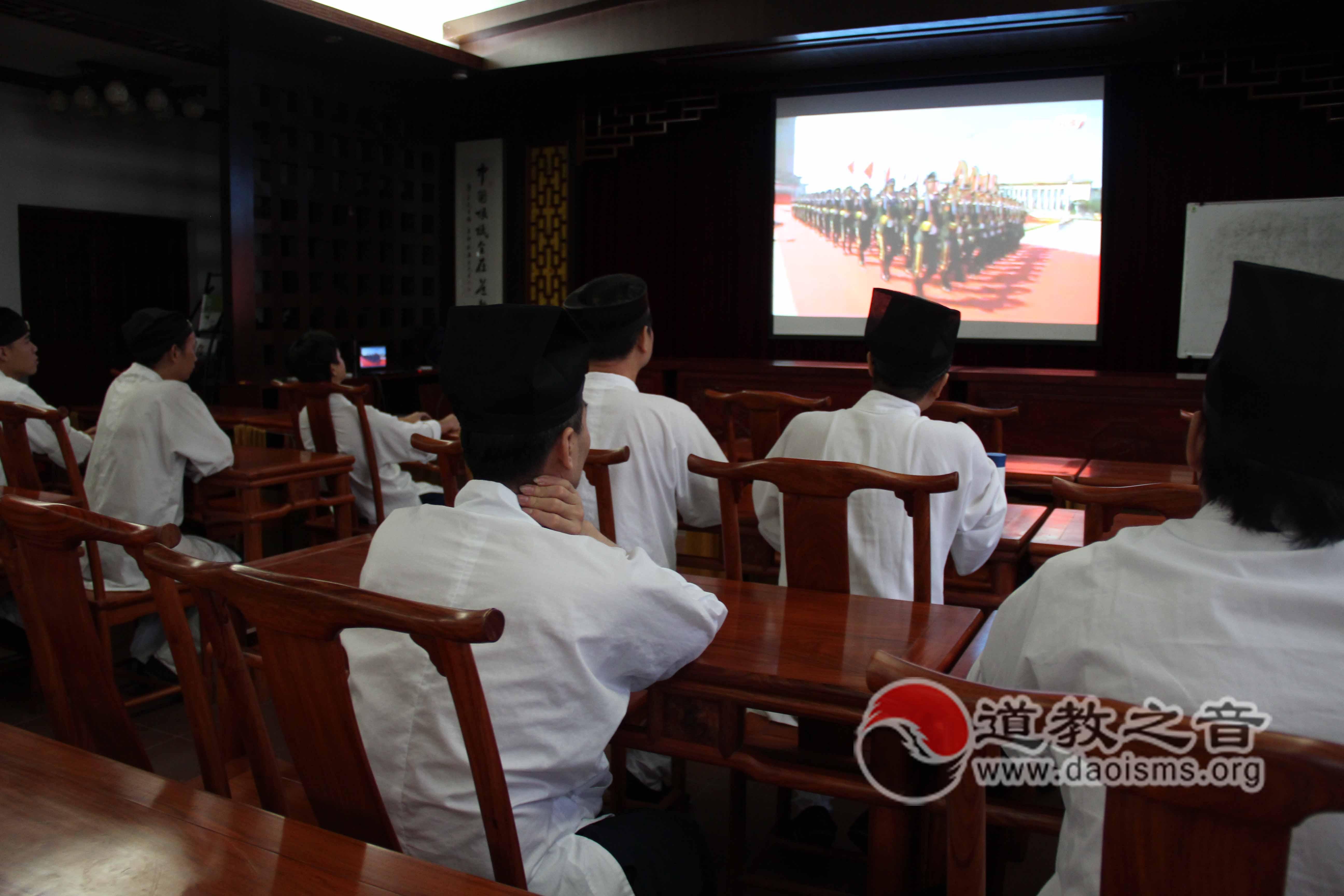 广州道教纯阳观举办抗战暨世界反法西斯战争胜利70周年纪念活动