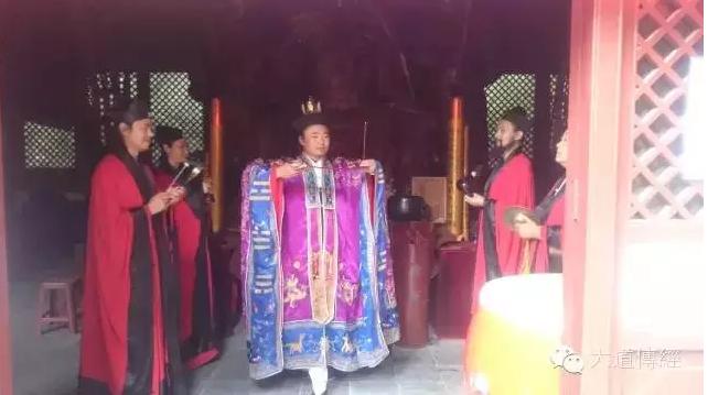 武汉大道观举行纪念中国人民抗战胜利70周年暨祈祷世界和平大法会