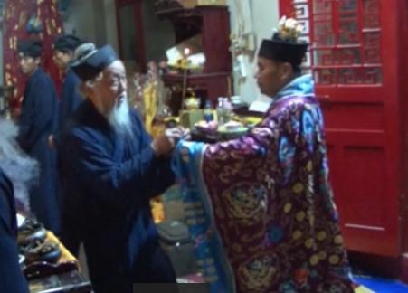 河北清河玉皇宫西王母圣诞拜斗科仪(视频)