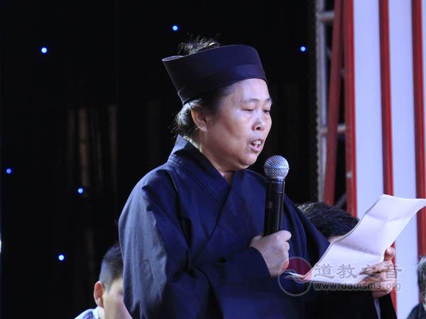 黄至安道长:湖南省道协成立30周年庆典暨坤道学院挂牌仪式上的讲话