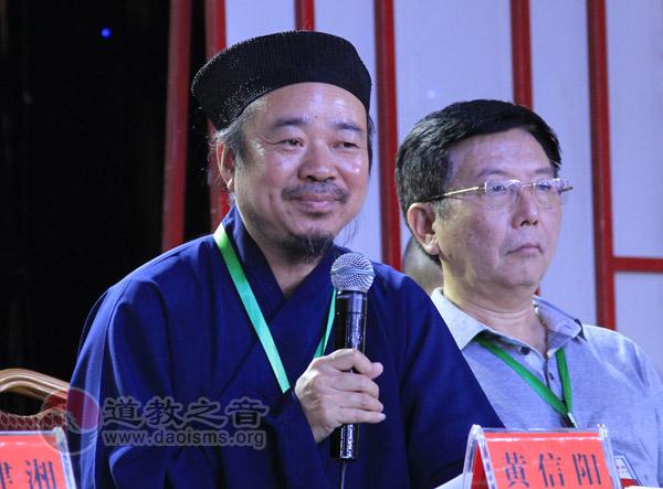 黄信阳道长:南岳坤道学院要多出道教人才