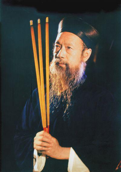中国道教协会会长、武当山道教协会会长李光富